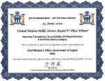 UN Certificate